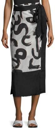 Proenza Schouler Wrap Skirt Pareo