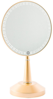 Impressions Vanity Bijou LED Hand Mirror with Charging Stand.