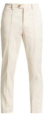 Brunello Cucinelli Men's Crease Leisure-Fit Pants