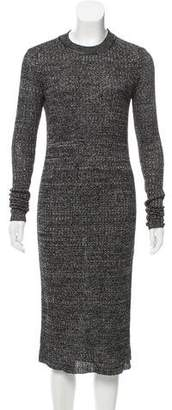 Isabel Marant Mélange Midi Dress