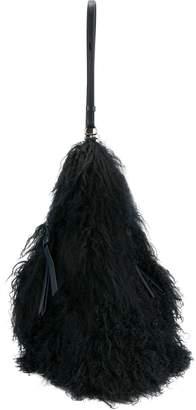 Nina Ricci fur shoulder bag