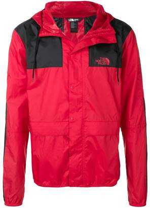 The North Face bicolour short windbreaker