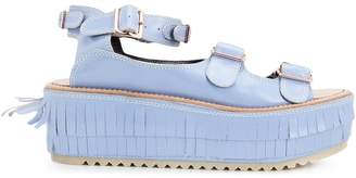 Julien David strappy platform sandals