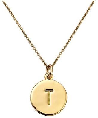 Kate Spade New York Pendants T Pendant Necklace