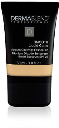 Dermablend Smooth Liquid Foundation Makeup with SPF 25