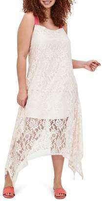 ELVI Roxi Lace Maxi Dress