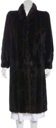 Fur Mink Fur Coat