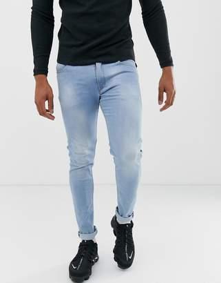 Replay Jondrill skinny Power Stretch jeans in light wash