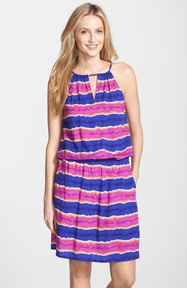 Tommy Bahama Stripe Cover-Up Blouson Dress $96 thestylecure.com