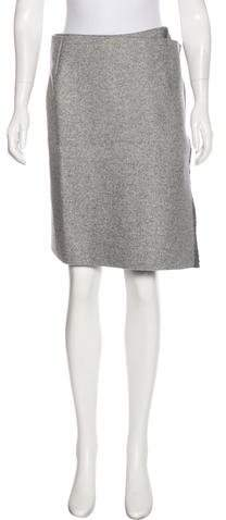 Celine Wool Knee-Length Skirt w/ Tags