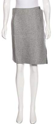 Celine Wool Knee-Length Skirt w/ Tags