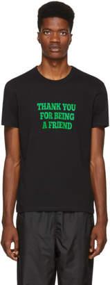 Ami Alexandre Mattiussi Black Thank You For Being a Friend T-Shirt