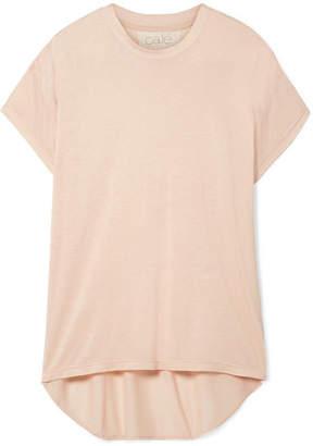 calé - Sandrine Modal-blend Jersey T-shirt - Blush