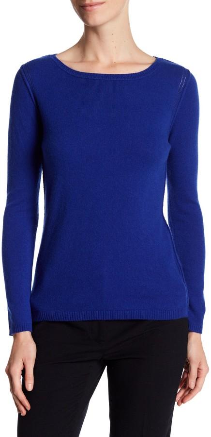 In Cashmere Cashmere Open-Stitch Pullover Sweater 11