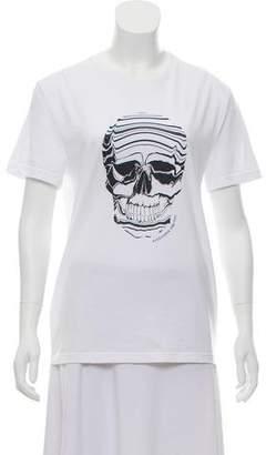 Alexander McQueen Graphic Short Sleeve T-Shirt