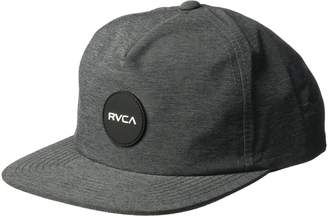 RVCA Young Men's Motor Delux Snapback Hat Hat, -Charcoal Hther