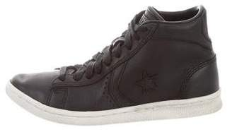John Varvatos Converse by Leather High-Top Sneakers