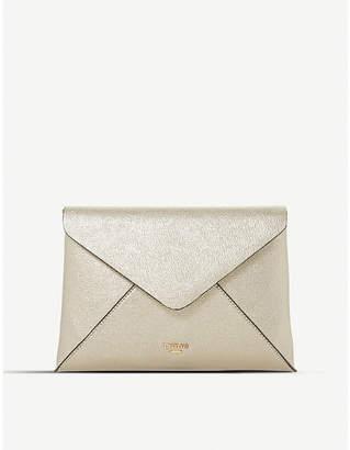 Dune Enria fold-over envelope clutch bag