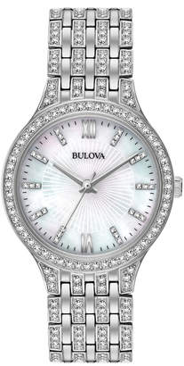 Bulova Women's Swarovski Crystal Watch