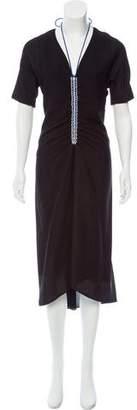 Reed Krakoff Woven Midi Dress
