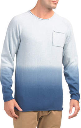 Long Sleeve Crew Neck Knit Shirt