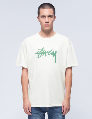 Stussy Stock Pigment Dyed T-Shirt $35 thestylecure.com
