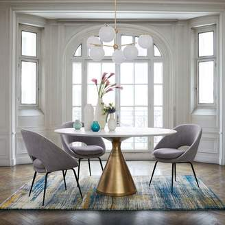 west elm Silhouette Pedestal Dining Table - Round