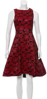 Alice + Olivia Floral Midi Dress