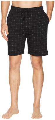 Lacoste Signature Print Knit Shorts Men's Pajama