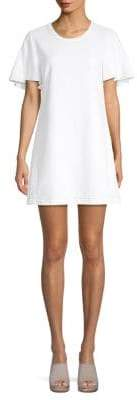 7 For All Mankind Cotton Popover Dress