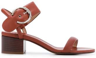 Chloé block heel sandals