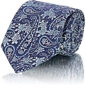 Fairfax Men's Floral-Paisley Silk Jacquard Necktie