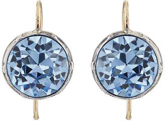 Stephanie Windsor Antiques Women's Round Crystal Drop Earrings