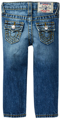 True Religion Big Contrast Straight Jean (Baby Boys) $89 thestylecure.com