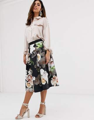 Closet London Closet full midi skirt