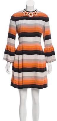 Fendi Knee-Length Silk Dress