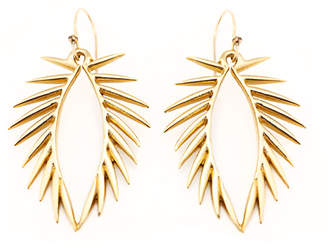 Carolyn Colby Palm Earring Gold