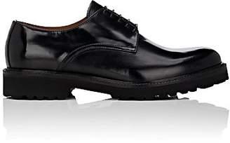 Barneys New York Men's Leather Bluchers - Black