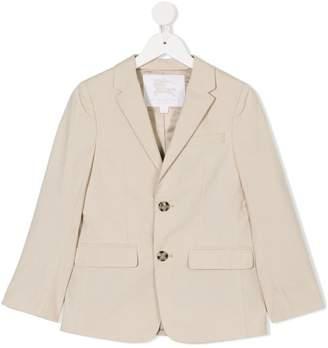 Burberry long sleeve buttoned blazer