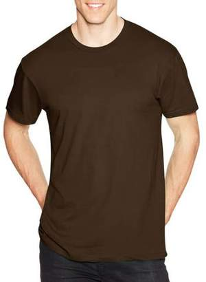Hanes Young Men's Solid Short Sleeve Nano Tee