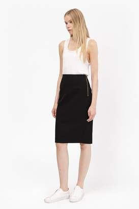 French Connenction STREET TWILL PENCIL SKIRT SHORT