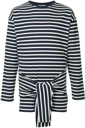 J.W.Anderson tie front long sleeve T-shirt