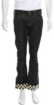 Evisu Fife-Pocket Relaxed Jeans