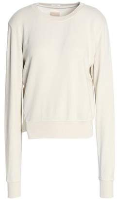 Mother Asymmetric Cotton-Jersey Sweatshirt