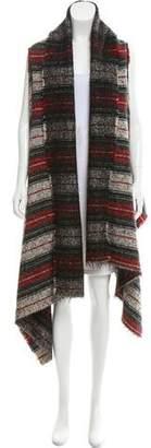 Isabel Marant Plaid Wool Cardigan