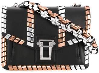 Proenza Schouler Metallic Whipstitch Hava Chain Handbag