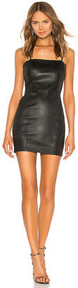 Alexander Wang Stretch Leather Cami Dress