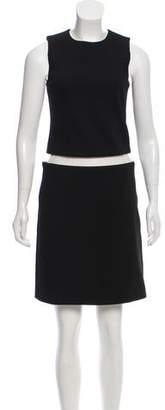 Michael Kors Mini PVC Accent Dress