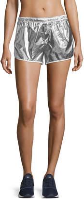 Tory Sport Metallic Pull-On Performance Shorts