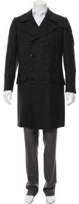 Dolce & Gabbana Virgin Wool Double-Breasted Coat